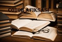 Contoh Afiksasi