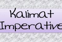 Kalimat imperative