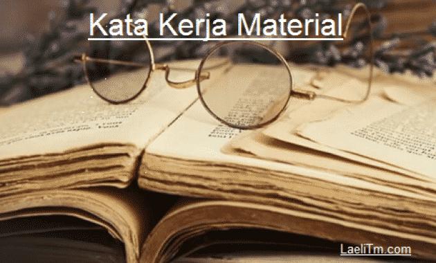 Kata kerja Material
