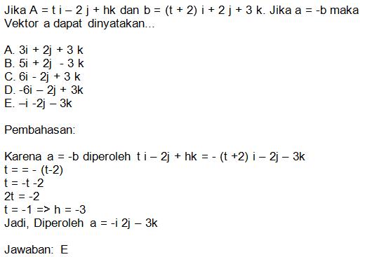 Contoh Soal Matriks